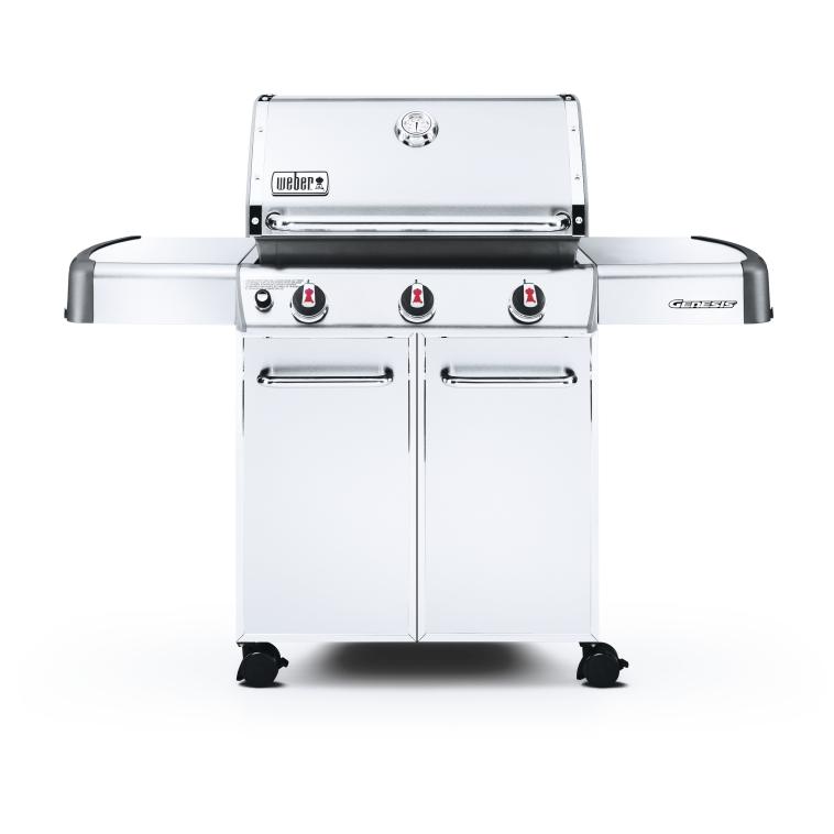 archappliance weber genesis s 310 3 burner gas grill stainless steel. Black Bedroom Furniture Sets. Home Design Ideas